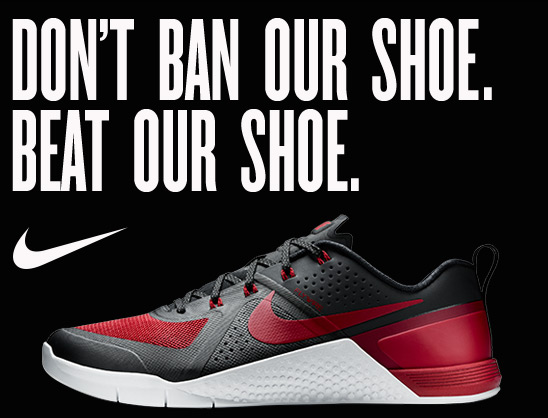 DON'T BAN OUR SHOE, BEAT OUR SHOE.
